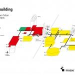 Hallenplan Geländeplan Light + Building 2016 Messe Frankfurt